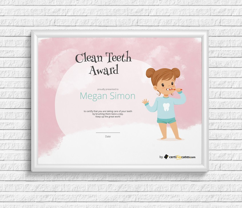 clean teeth award